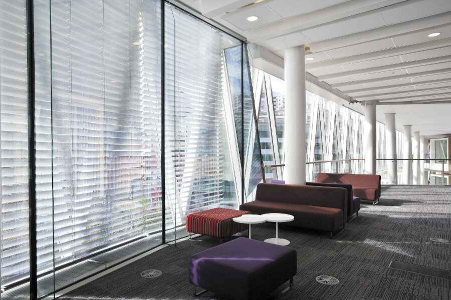 Interior Space with Venetian Blinds
